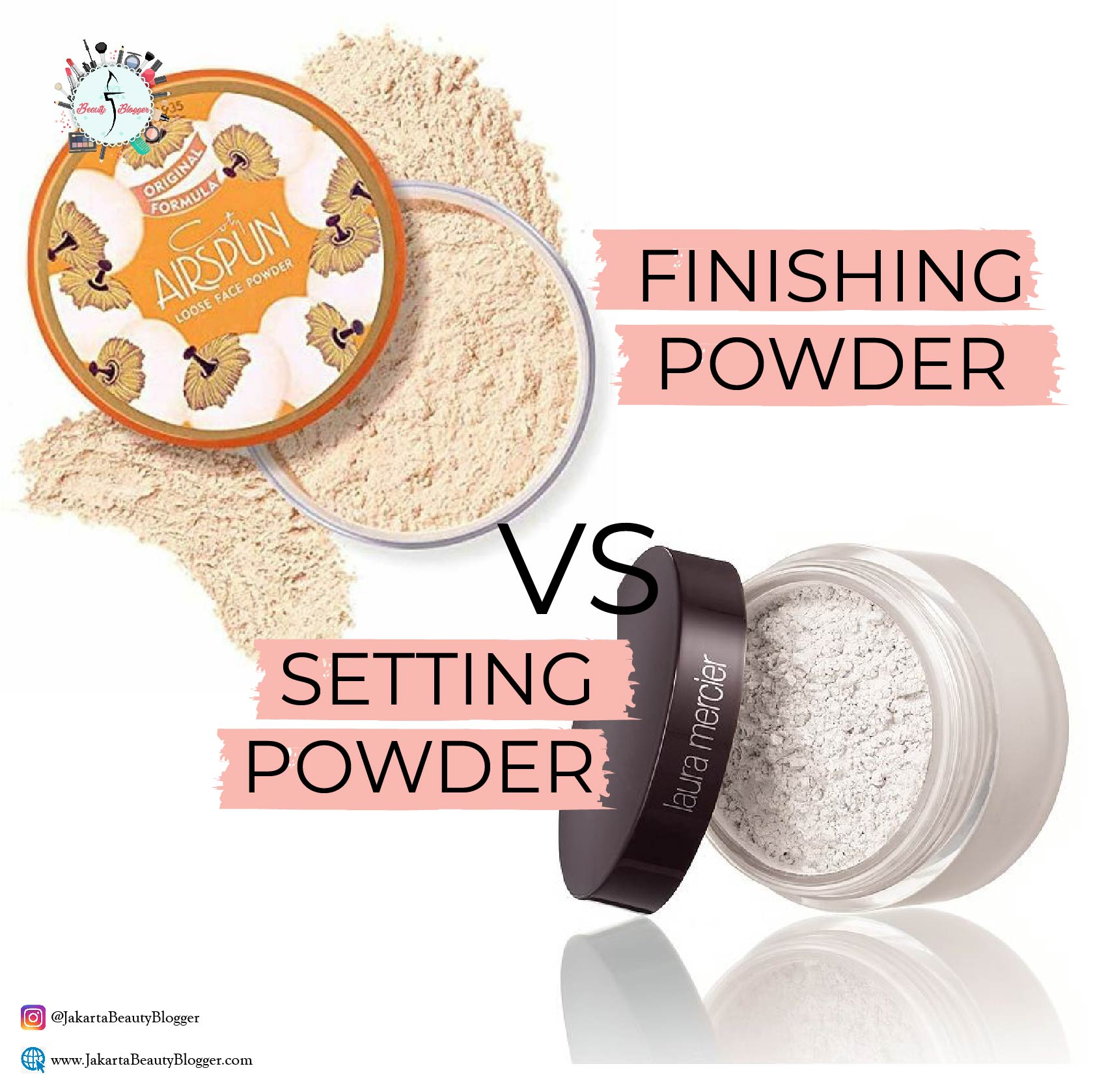 SETTING POWDER VS FINISHING POWDER