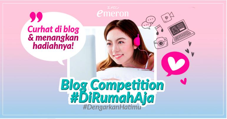 emeron blog competition 2020 karantina di rumah aja