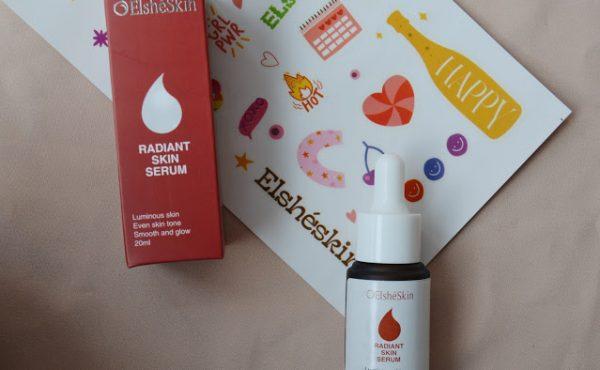 Radiant skin serum , review elshe skin , review radiant skin serum ,review produk elshe skin , elshe skin produk elshe skin , rekomendasi produk elshe skin