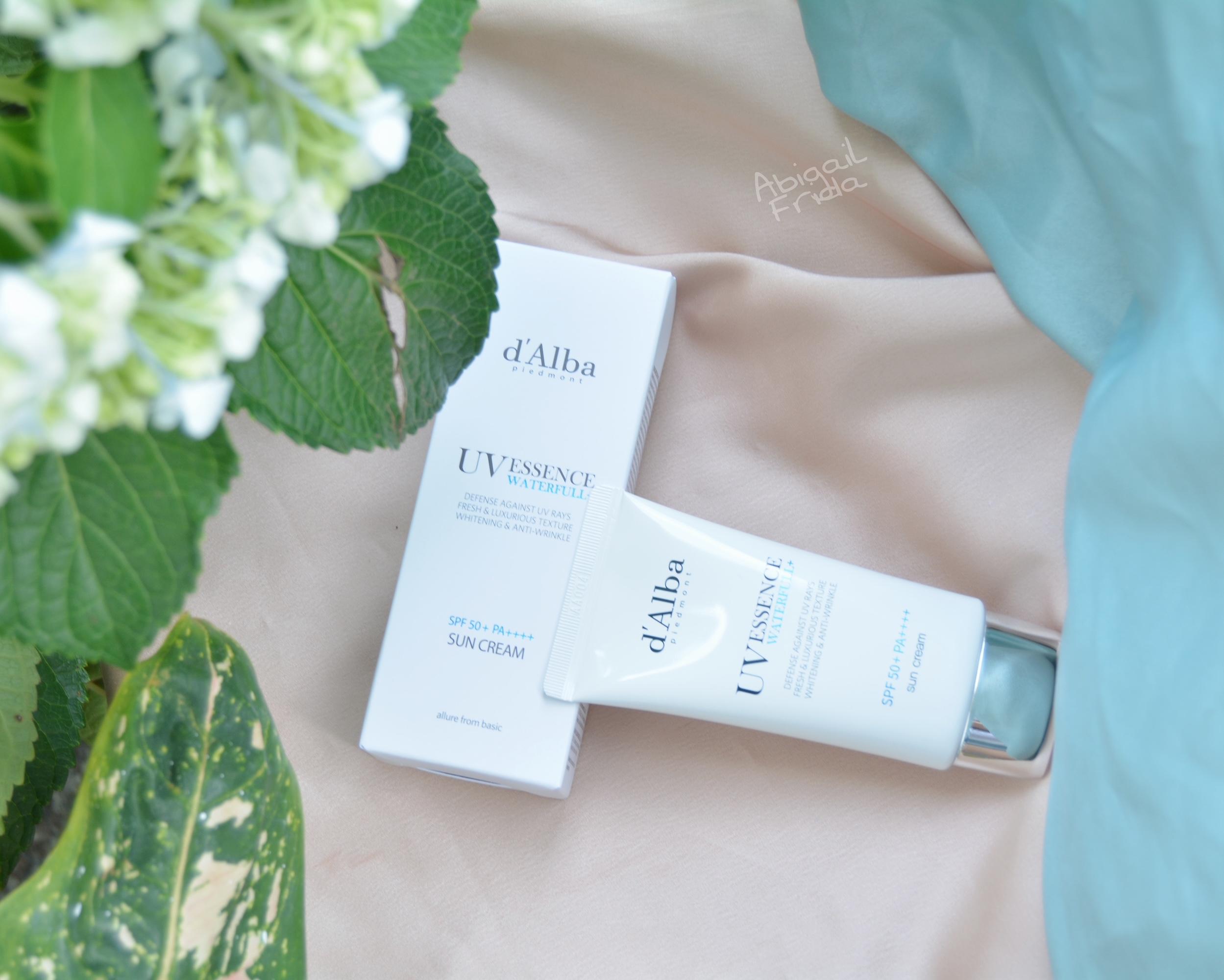 d'Alba UV Essence Waterfull Sun Cream SPF 50+ PA++++